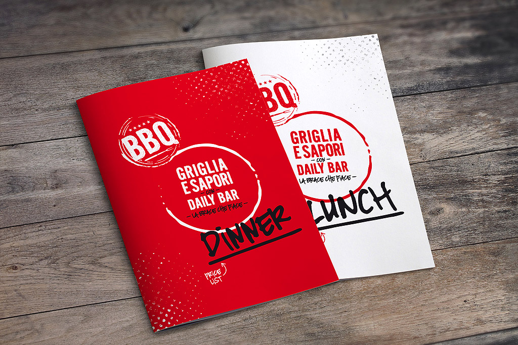 BBQ menu cover