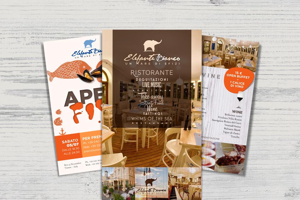 Cartoline e flyer