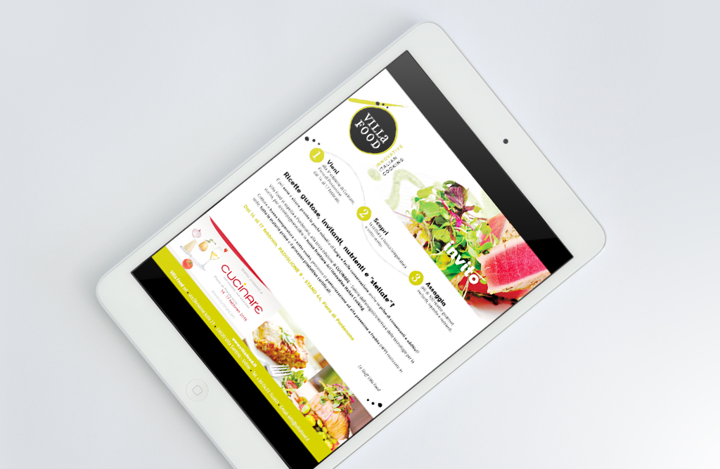 Newsletter Villa Food