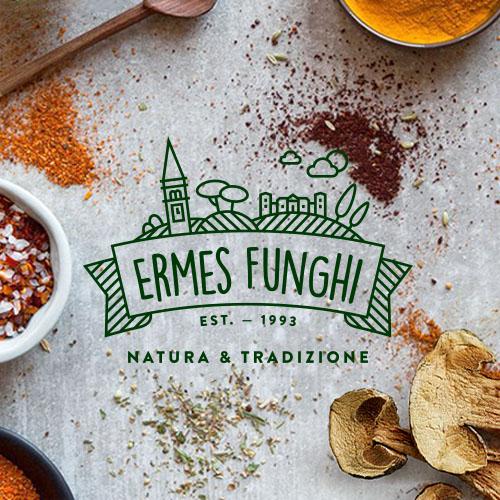 Ermes Funghi – Logo